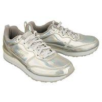 100/sil silver, półbuty sportowe damskie marki Skechers