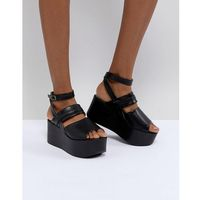 Raid devona black flatform chunky sandals - black