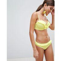 Pour Moi Underwired Bikini Top B - G Cup - Yellow, w 4 rozmiarach