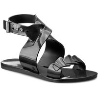 Sandały MELISSA - Wonderful + Jason Wu A 31855 Black 01003, kolor czarny