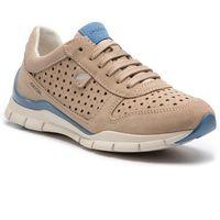 Geox Sneakersy - d sukie a d52f2a 022au c6738 lt taupe