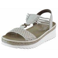 Sandały Rieker V3285-40 Szare, kolor szary