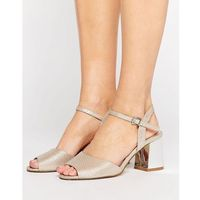 cara block sandal - beige, Miss kg
