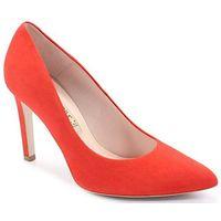 1373 koralowe - klasyczne szpilki - pomarańczowy marki Bravo moda