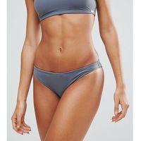 marl textured bikini bottom - grey marki Free society