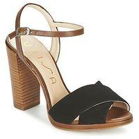Sandały Unisa YAMILE, kolor czarny