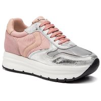 Sneakersy - may 0012013508.04.1q19 argento/rosa marki Voile blanche