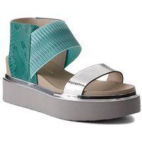 Sandały UNITED NUDE - Rico Sandal 10304440106108 Silver/Mint/Ivory
