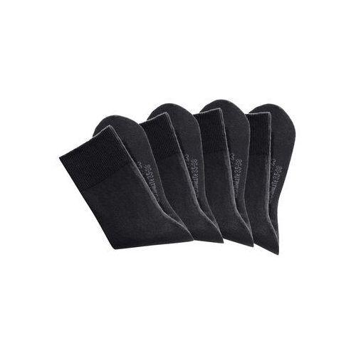 Skarpetki regulujące klimat h.i.s (4 pary) czarny marki Bonprix