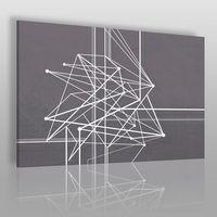 Vaku-dsgn Trajektoria losu - nowoczesny obraz na płótnie