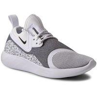 Buty NIKE - W Nike Lunarcharge Essential 923620 100 White/Black/White, kolor szary