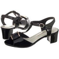 Sandały Sergio Leone Czarne 11806 (SL141-a), 11806 Czarny