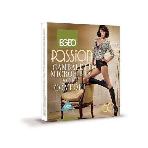 Podkolanówki Egeo Passion Microfibra Soft Comfort 60 den uniwersalny, szary/antracit, Egeo, 006967000817
