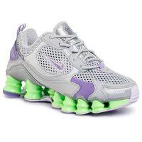 Nike Buty - shox tl nova sp ck2085 002 mtlc platinum/metallic silver
