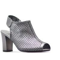 Sandały sa107-2 srebrne, Jezzi