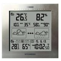 Stacja meteo ws 2244 m srebrna marki Hyundai