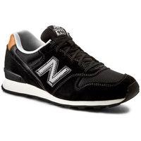 Sneakersy - lifestyle wr996gd czarny marki New balance