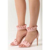 Różowe Sandały Grace Of Heaven, kolor różowy