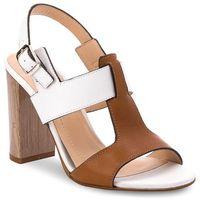 Sandały SOLO FEMME - 62451-35-B99/G51-07-00 Biały/Camel, w 3 rozmiarach