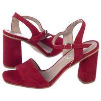 Sandały czerwone 8ph61_t1 _vm6 (ry67-a) marki Ryłko