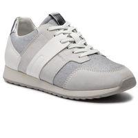 Sneakersy - d deynna d d746fd 022ew c0626 off white/silver, Geox, 35-36