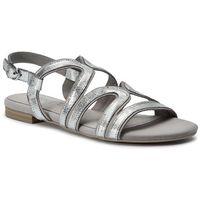 Sandały CAPRICE - 9-28101-22 Silver Glit. Co 970, w 6 rozmiarach