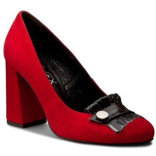 Ann mex Półbuty - 7972 14w+01 czerwony