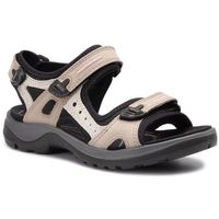 Sandały - offroad 06956354695 atmosphere/ice w./black, Ecco, 35-41