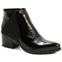 3815 czarne - botki z ociepleniem - czarny marki Tymoteo