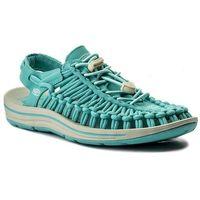 Sandały KEEN - Uneek 1018685 Aqua Sea/Pastel Turquoise, kolor zielony