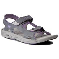 Sandały COLUMBIA - Youth Techsun Vent BY4566 Tradewinds Grey/White Violet, w 5 rozmiarach