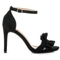 Buty kylie Sandały na szpilce z falbanką