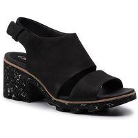 Sandały CLARKS - Rene Sienna 261320674 Black Nubuck, w 6 rozmiarach