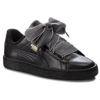 Sneakersy PUMA - Basket Heart Wn's 365198 01 Puma Black, kolor czarny