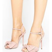 Office Scarlett Knot Heeled Sandals - Pink
