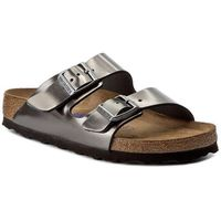 Klapki BIRKENSTOCK - Arizona BS 1000295 Metallic Anthracite, kolor zielony