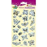 Motyle naklejki złoto-srebrne 23 szt craft-fun - motyle marki Titanum