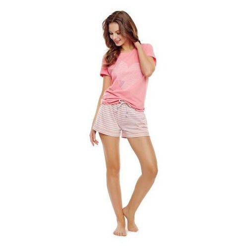 Piżama Henderson Ladies 35911 Diya kr/r S-XL XL, różowy. Henderson, L, M, S, XL, 1 rozmiar