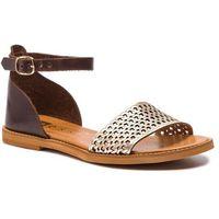 Sandały NESSI - 18381 Brąz/Złoto 11, w 5 rozmiarach