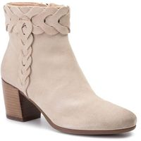 Botki GEOX - D New Lucinda A D92AMA 00022 C6738 Lt Taupe, kolor beżowy