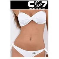 Cc7 roberto lucca Set kąpielowki cc7 banduage + briefs cool white no. 47