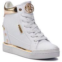 Guess Sneakersy - fl5fn lfal12 white