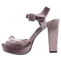 Dorothy Perkins DP X VERO MODA DUBLIN Sandały na obcasie purple, kolor fioletowy