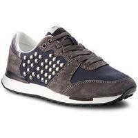 Sneakersy - bimba studs pls30744 black 999, Pepe jeans, 36-41