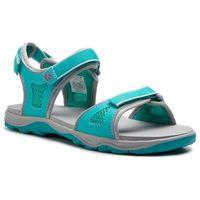 Sandały - acora beach sandal g 4030011 d aquamarine, Jack wolfskin, 37-40