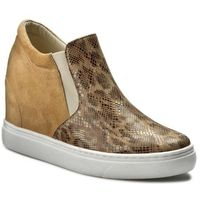 Sneakersy BALDACCINI - 796500-A Sugar 01/Beż Zamsz, kolor brązowy