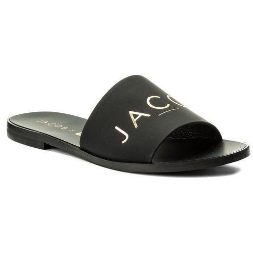Klapki NESSI - JC021 Black Mat, kolor czarny