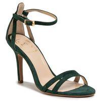 Sandały BALDOWSKI - D03054-3436-007 Zamsz Zielony 728, kolor zielony