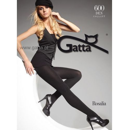 Gatta Rajstopy rosalia 600 den 2-4 2-s, czarny/nero, gatta