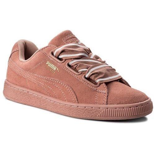 Sneakersy PUMA - Suede Heart Satin II Wn's 364084 03 Cameo Brwon/Cameo Brown, kolor różowy